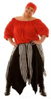 Gypsy Pirate Costume (Red)